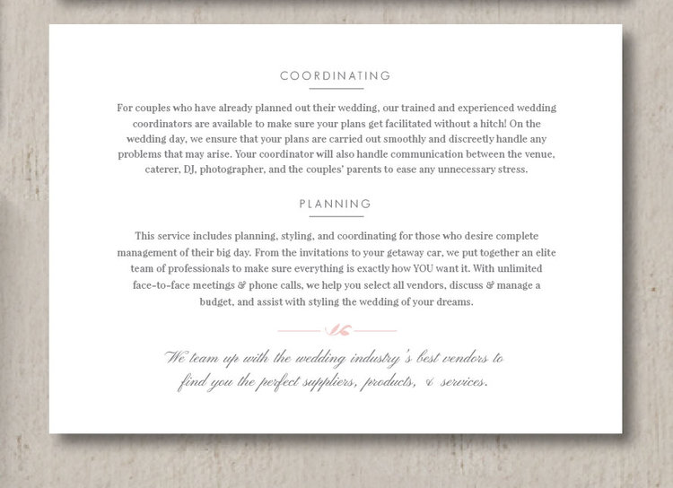 Wedding Marketing Flyer Template  Eucalyptus