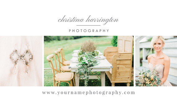 Wedding photographer business card template eucalyptus fbccfo Choice Image