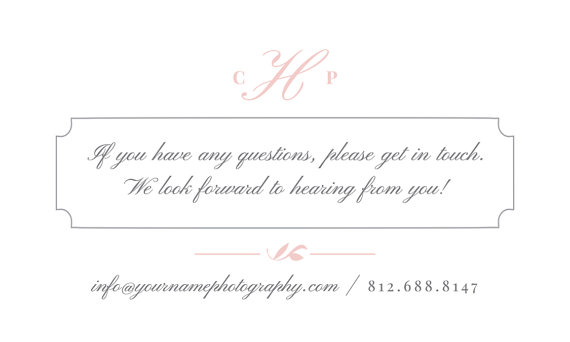 Wedding photographer business card template eucalyptus colourmoves