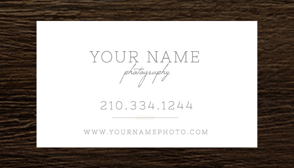 Photography Business Cards Wedding Photography Business Card