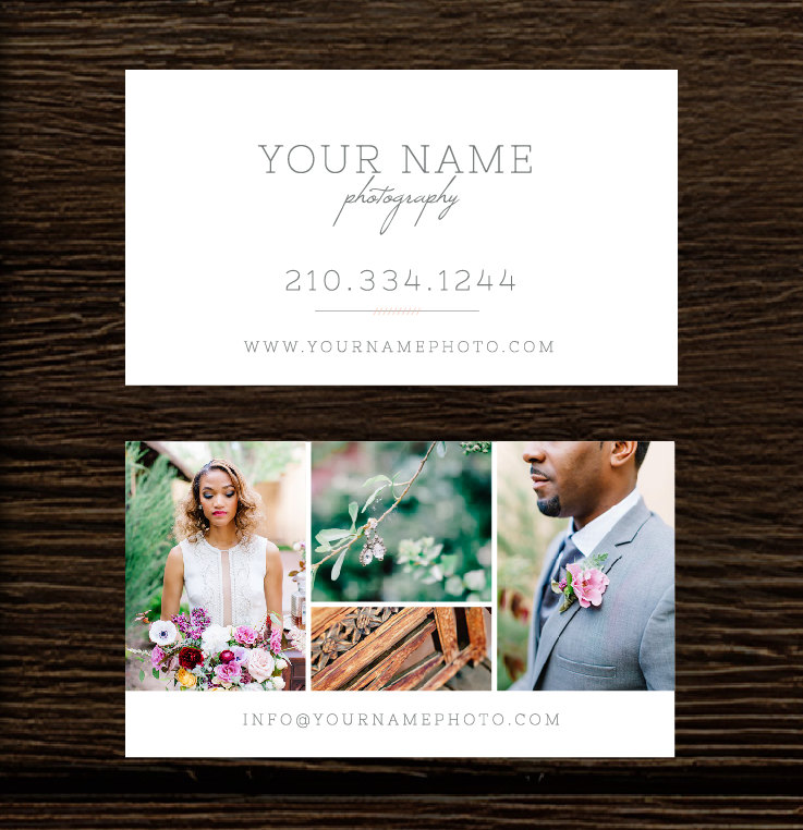 Photography Business Cards - Wedding Photography Business Card ...