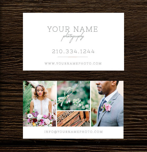 Photography Business Cards Wedding Photography Business Card - Photography business card template