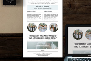 Photography Newsletter Template For Email Pinterest Minimal - Minimal email template