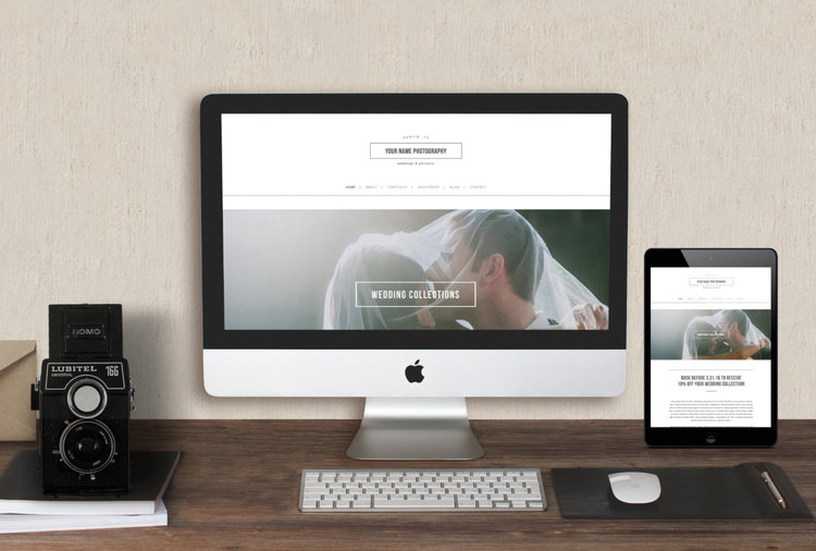 Squarespace Template For Photographers & Creatives - Photographer