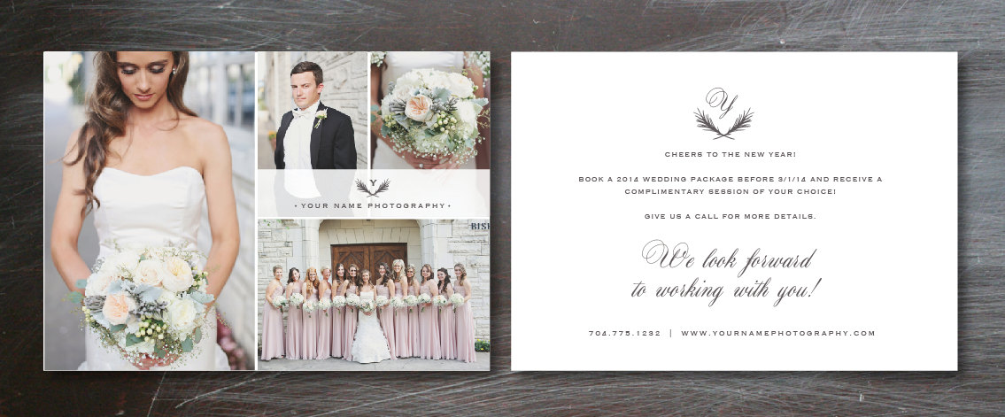 Flyer Template For Photographers - Wedding Photography Branding
