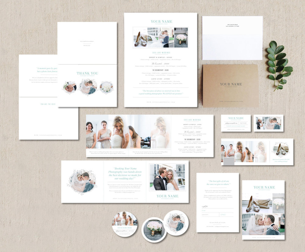 Photography Marketing Set For Wedding Photographers Planners