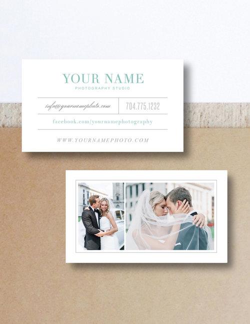 Wedding photographer business card template monterey colourmoves