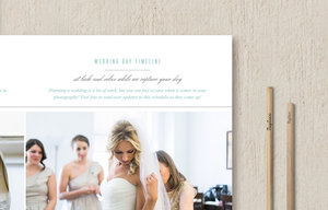 wedding timeline template for photographers and coordinators monterey