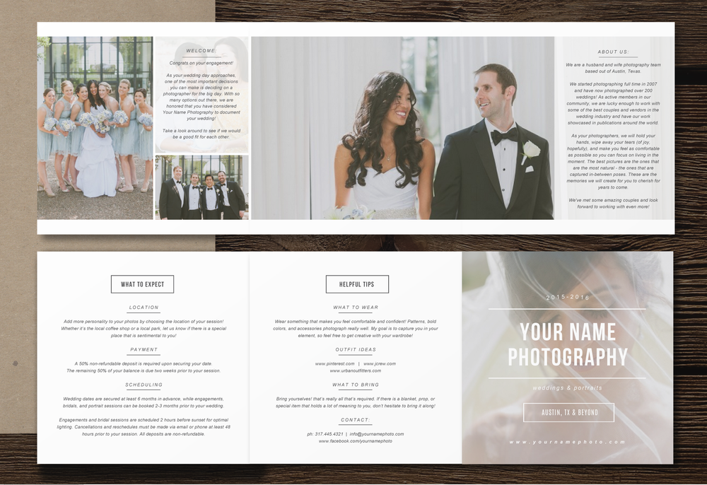 Wedding Photography Pricing.Wedding Photography Packages Template Ea59