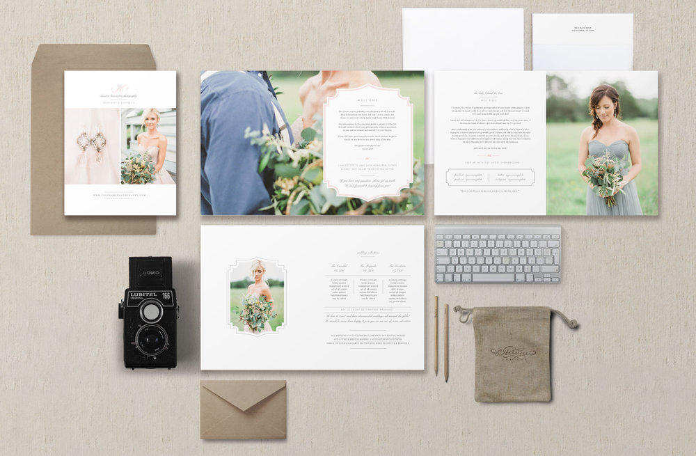 Wedding Photography Templates Free: Bittersweet Design Boutique