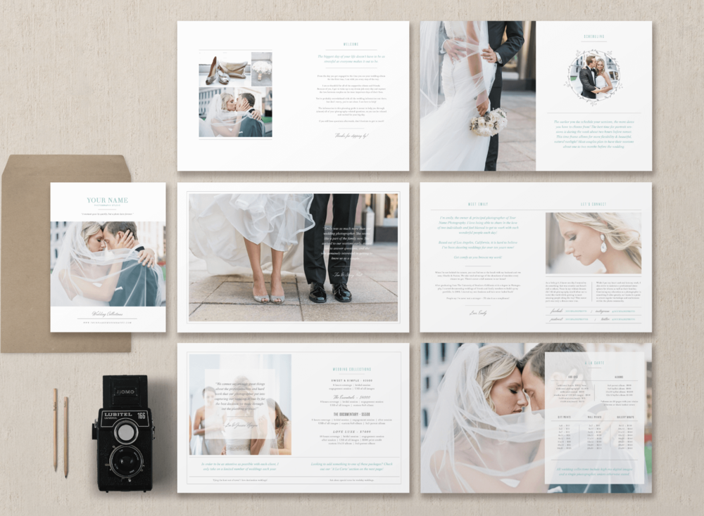 magazine template for photographers planners photographer