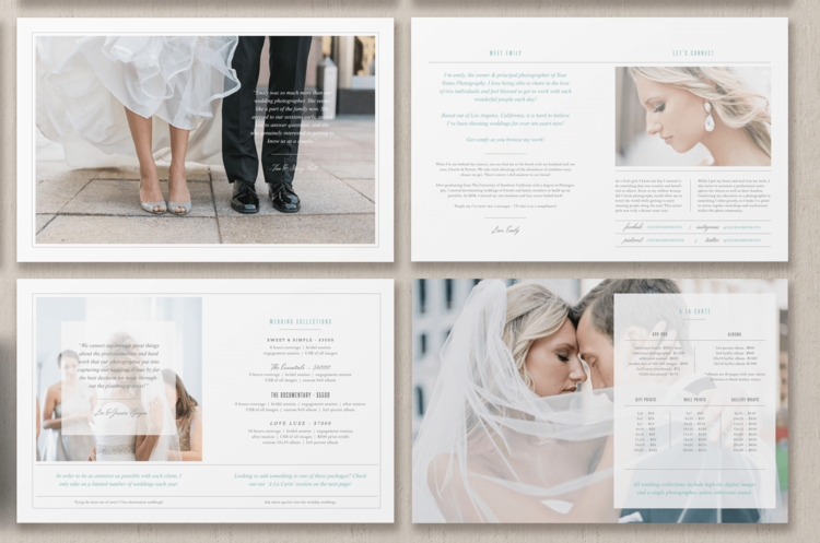 Magazine Template for Photographers & Planners - Photographer ...