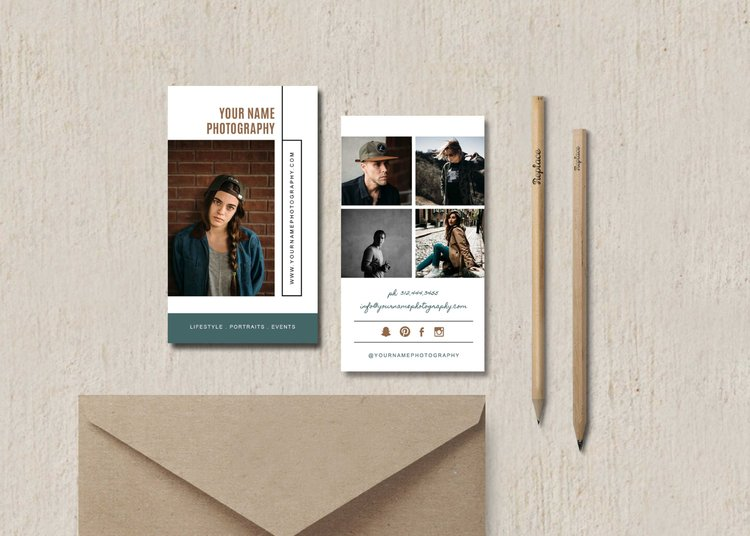 Photography business card template elm accmission Gallery