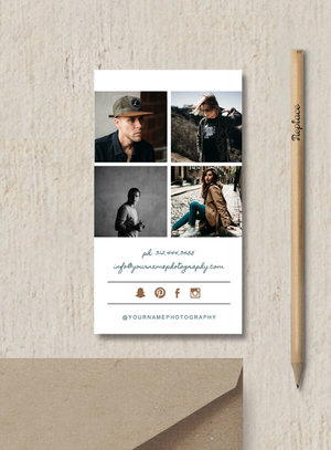Photography business card template elm cheaphphosting Images