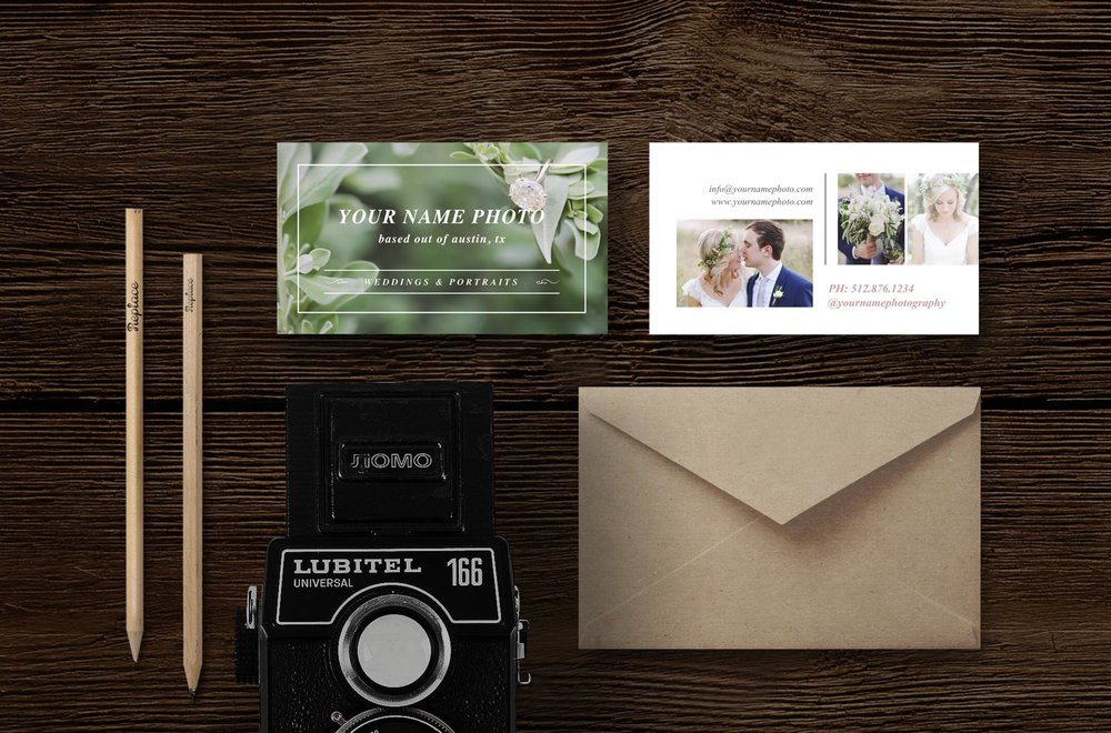 Photography Business Card Template - Laurel