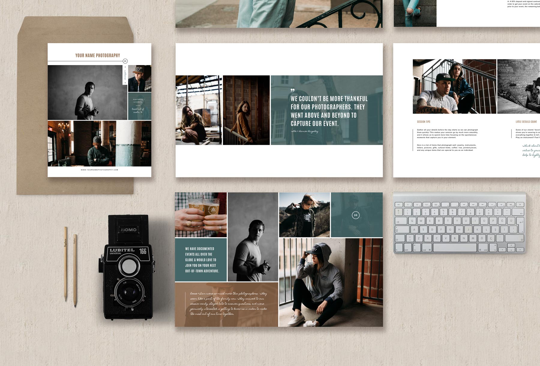 Pography Templates | Photography Magazine Template Elm