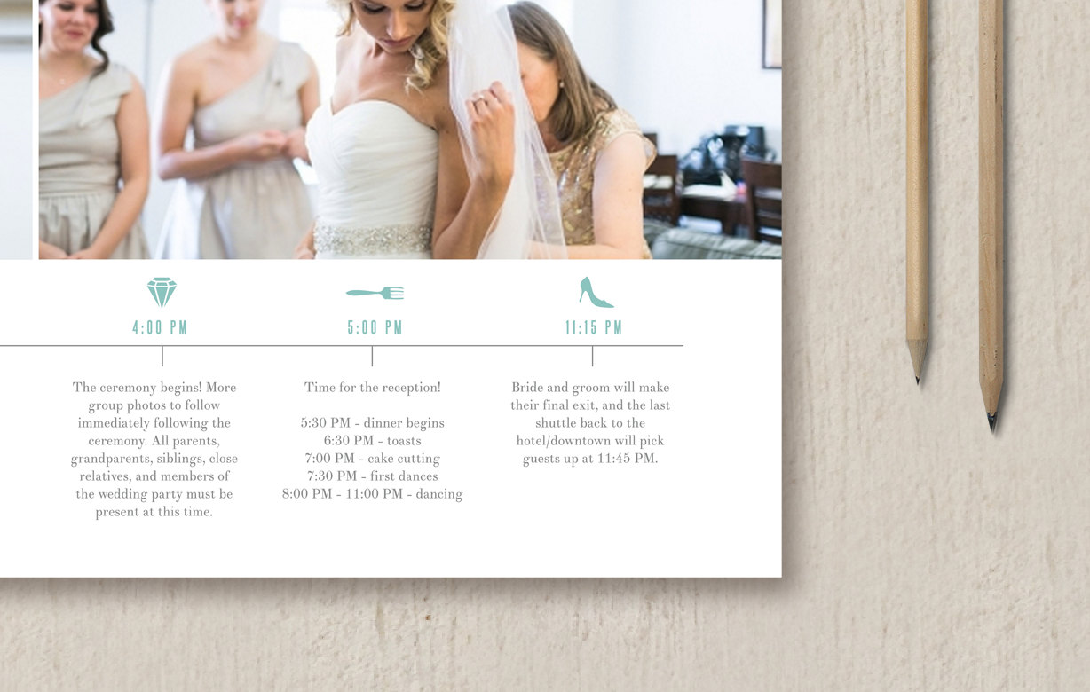 Wedding Timeline Template For Photographers Wedding Planners
