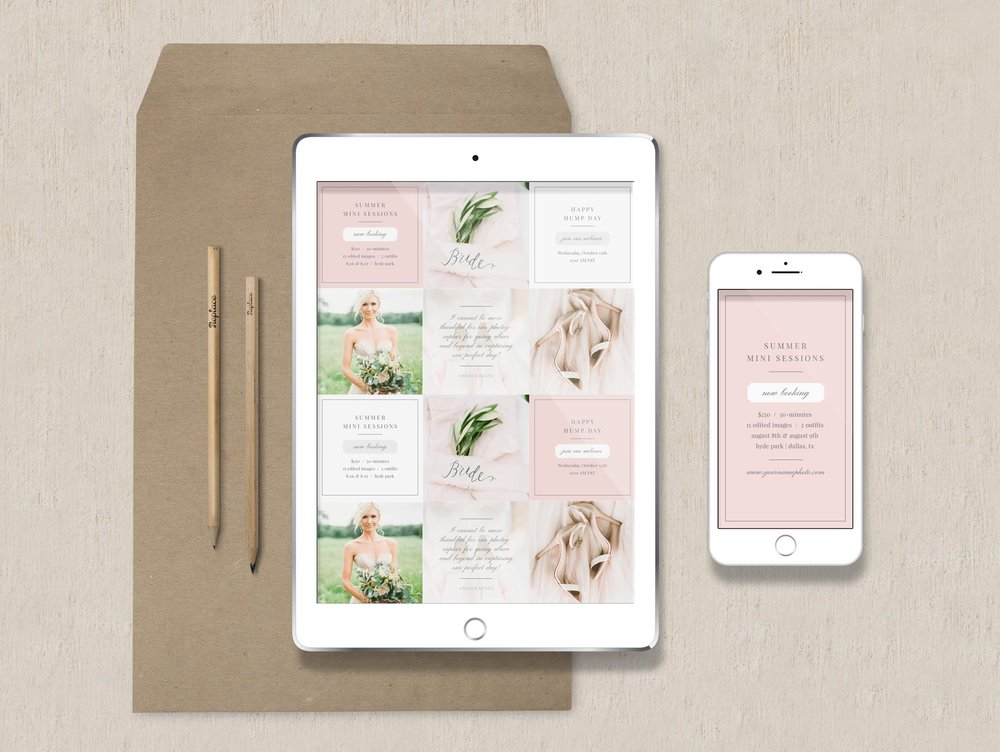 free photoshop templates for instagram