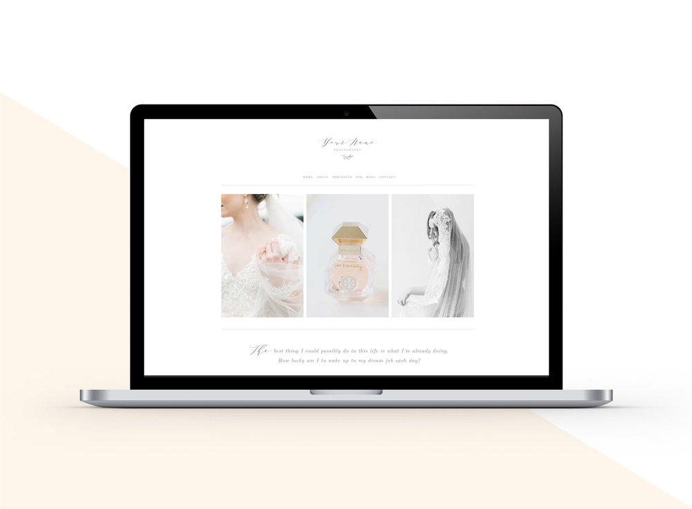 squarespace website templates | bittersweet design boutique