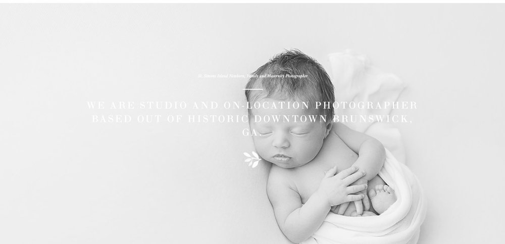 squarespace templates | newborn photographer website ideas | bittersweet design boutique