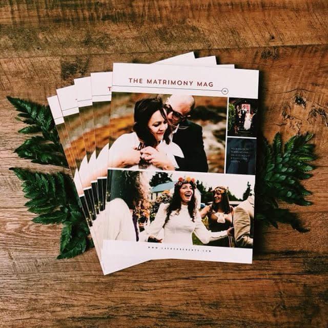 documentary wedding magazine