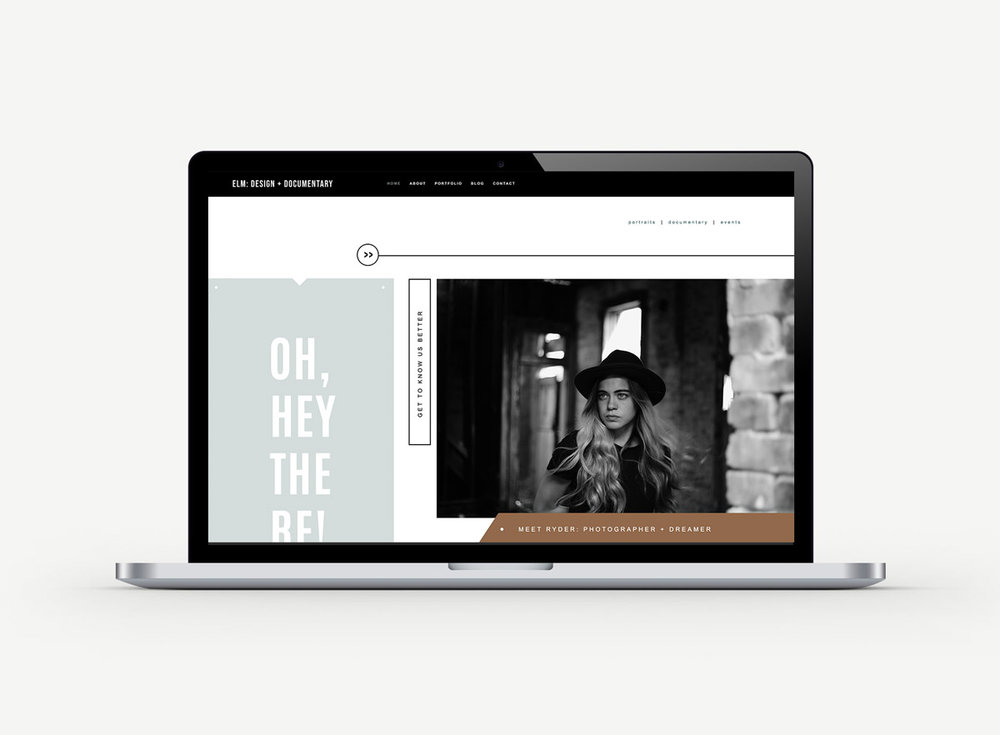 Squarespace templates for photographers , bloggers, and creatives