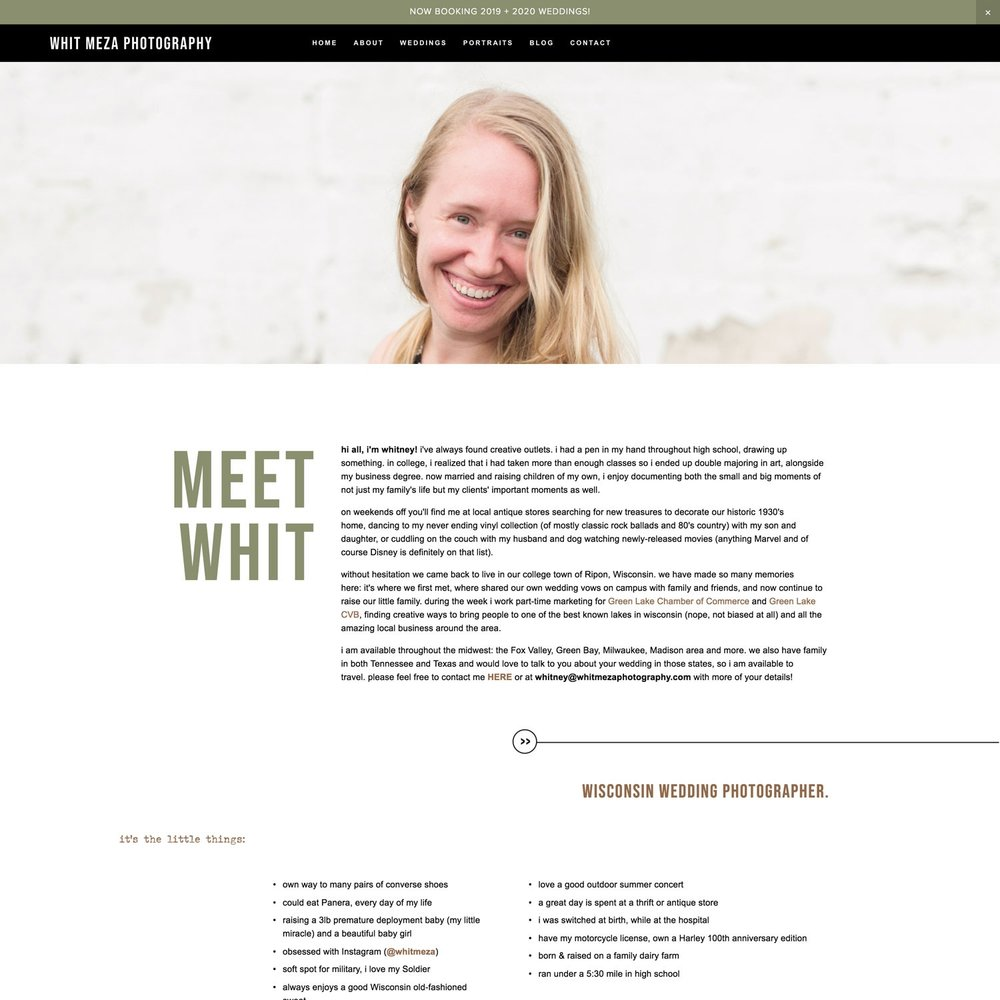 squarespace templates for photographers   websites by bittersweet design boutique