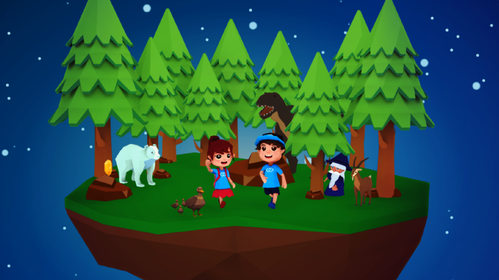 Code Camp World 3D - Character Design & Art Direction