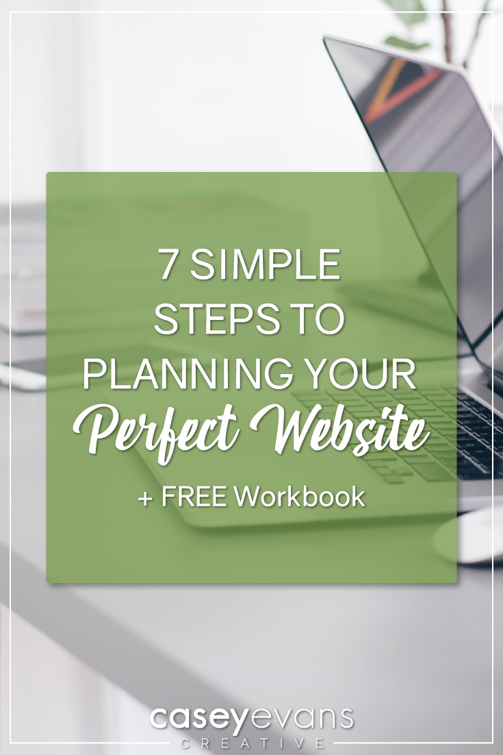 7 Simple Steps To Planning Your Perfect Website