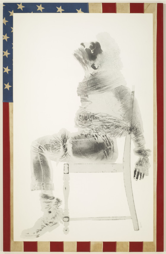 'Injustice Case' (1970) - David Hammons