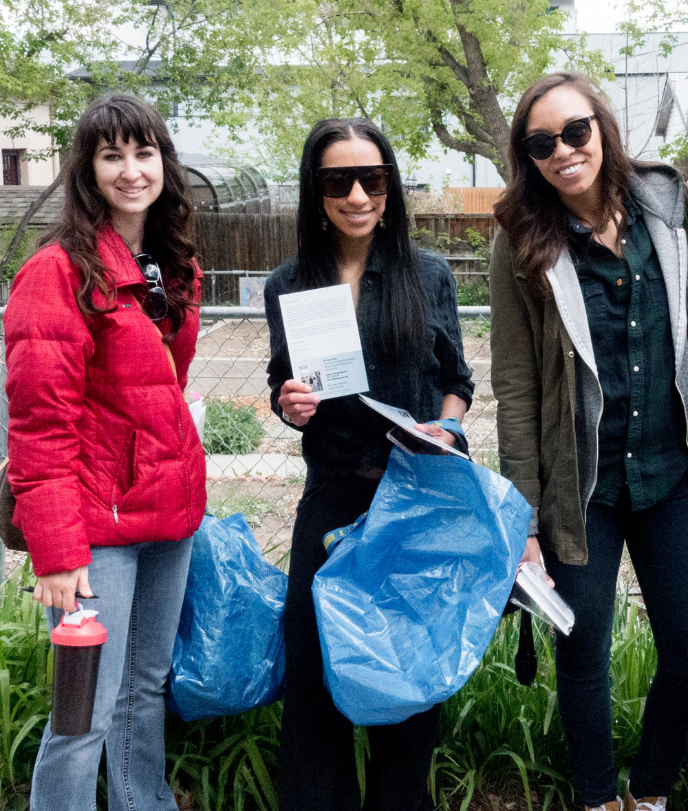 RH Luxe Group- Colorado Real Estate Group - Keller Williams - Earth Day Plastic Bag Drive
