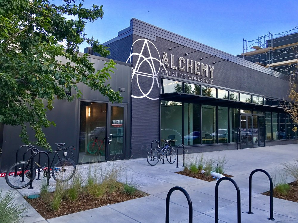 Alchemy Creative Workspace, 66 South Logan Street.