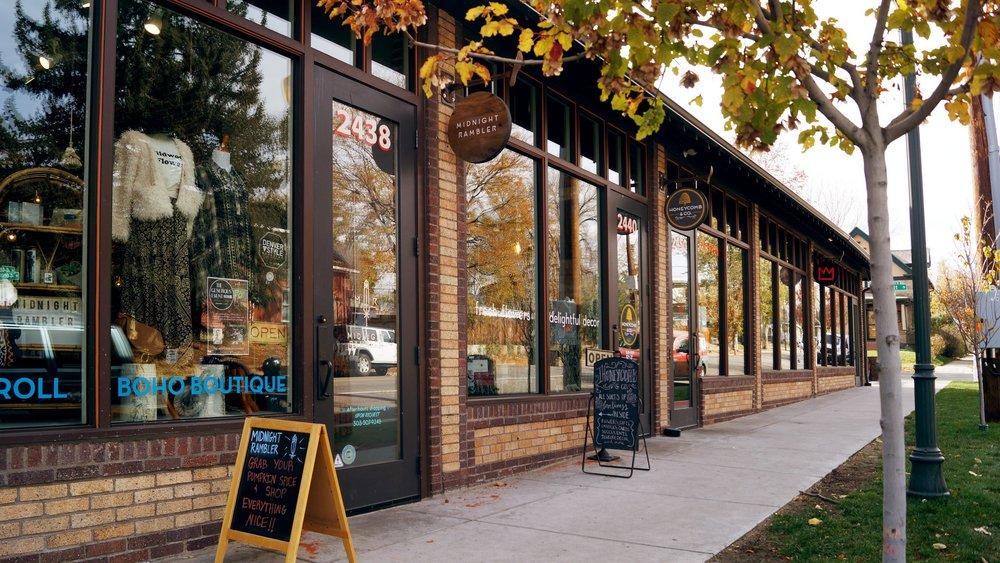 Cobbler's Corner, 2436 West 44th Avenue.