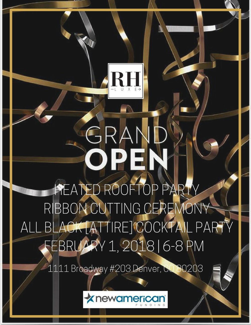 Ribbon cutting ceremony All black [attire] party The date, location time Our logo Sponsor logo And true a border. Boarders are opulent (4).jpg