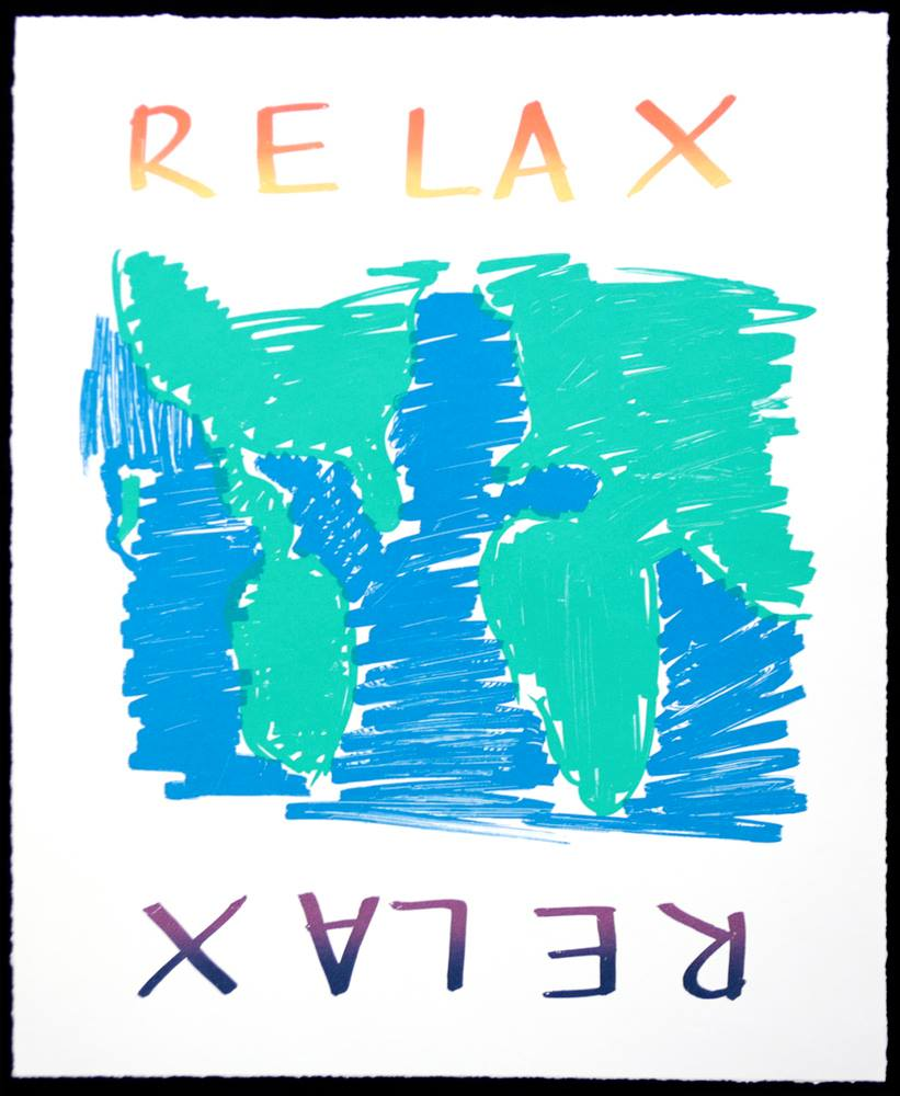 """relax"" by David Fisk Whitaker"
