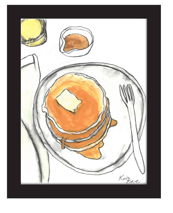 """Buttermilk Pancakes"" by Kris Lee (of L.A. Goal)"