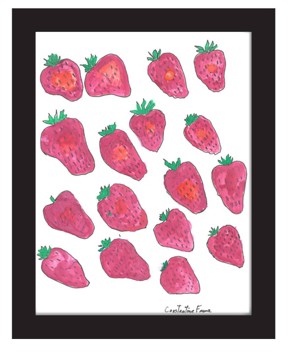 """(Strawberries)"" by Constantine Fama (of L.A. Goal)"