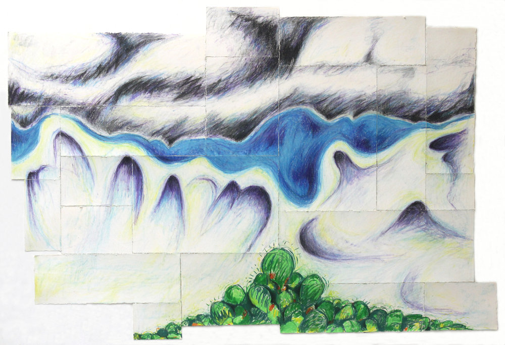 Untitled (Benito Juarez, nubes)