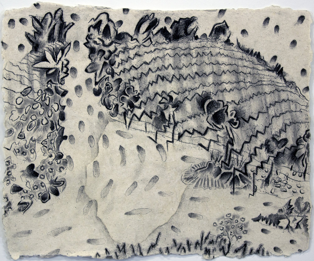 Study for Oaxacan landscape