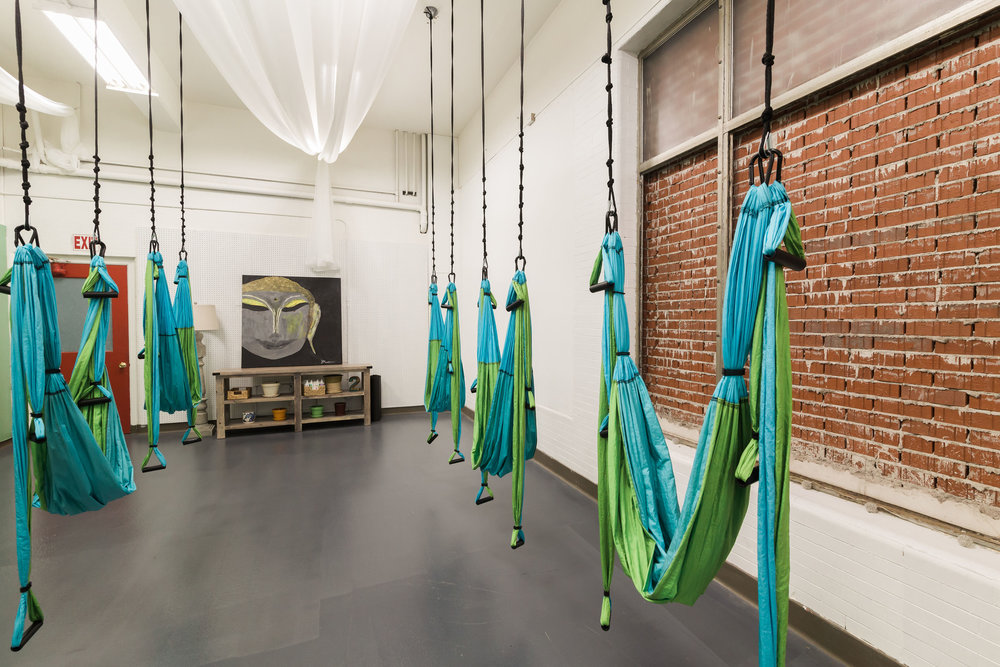 Yoga Trapeze (Back Room)