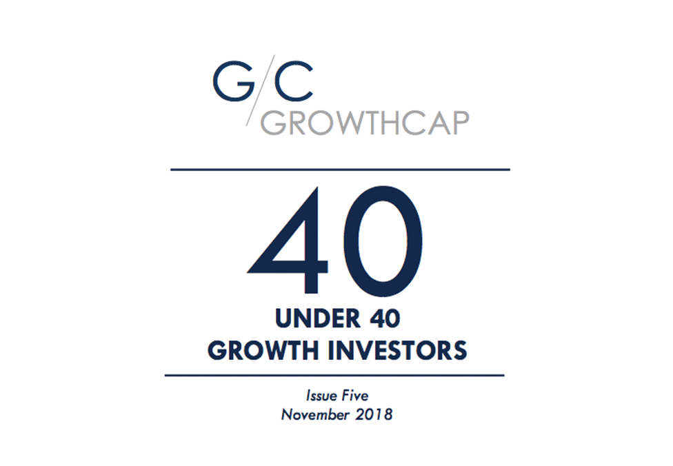 GrowthCap's Top 40 Under 40 Growth Investors of 2018
