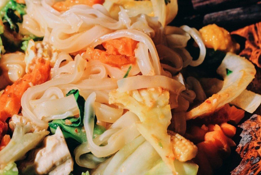 vegan, chiang mai, curry, vegetables, thailand