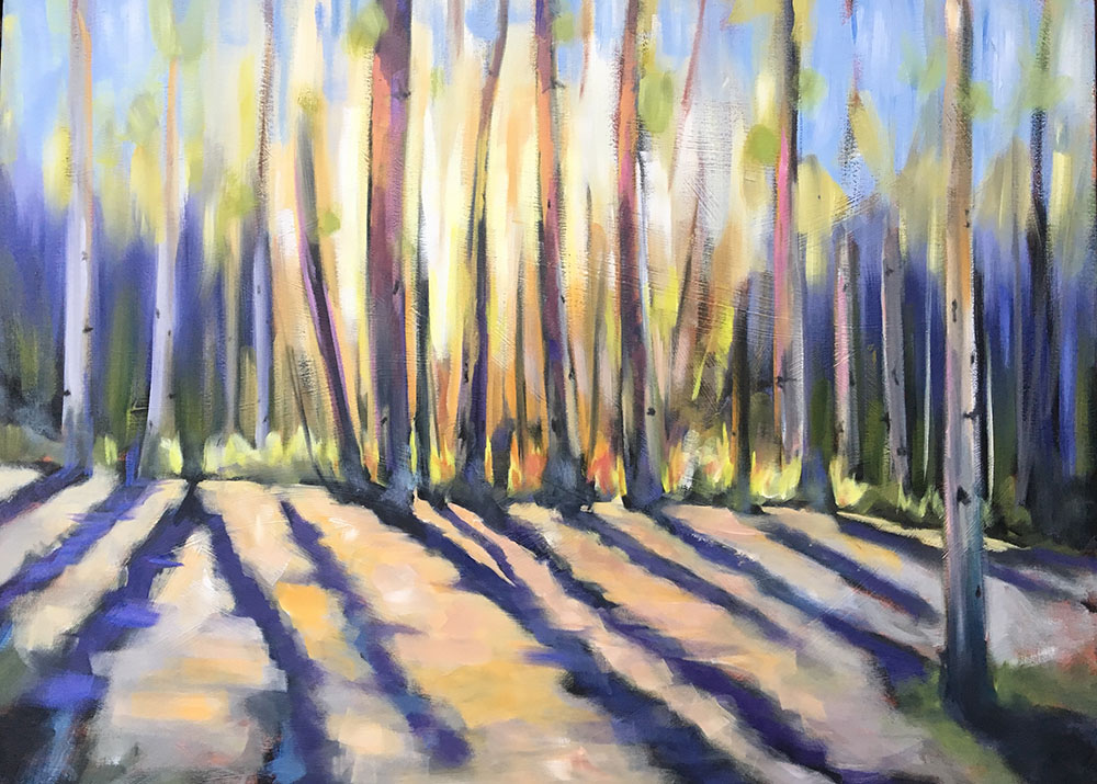 AFTERNOON TRAIL / SOLD