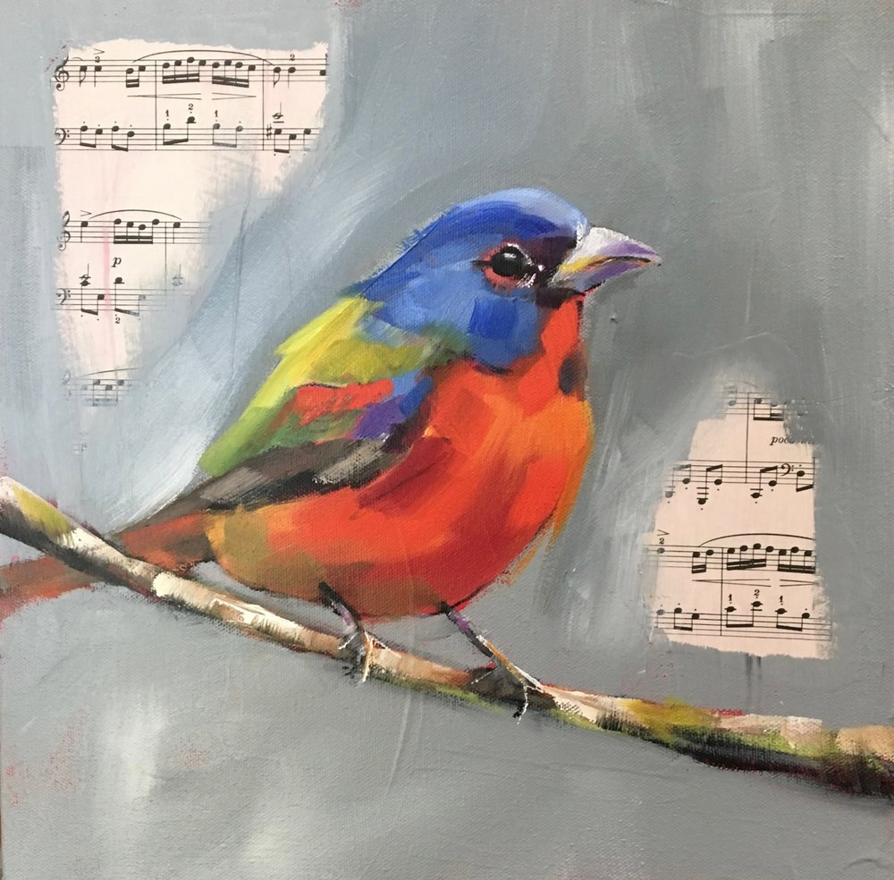 PAINTED BUNTING, SOLD
