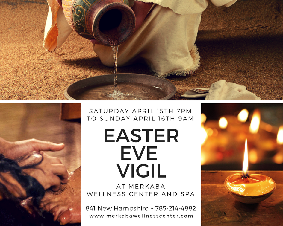 April 15th and 16th is an auspicious time for spiritual energies! During this time, we are gathering for an overnight Vigil on Easter Eve. We will engage in sacred crafts, prayer, meditation, and reflection. Our intention is that these activities will hold our hearts and minds open to the energies of Christ Consciousness as a way to blossom this energy further on Earth. These activities come from a few of our favorite ancient and timeless spiritual traditions. Join us. We'd love to share this experience with you.  Know that this event is over-night; and, doors will be locked from 8pm to 7:30am, for your safety and, to contain the energy of the Vigil experience.  Join us Saturday Evening 7:00pm through Sunday Morning 9:00am. Please register using this link; and, you'll be sent the details of some simple things you can do to prepare for this event. $20 per adult / $3 per child As you register, please share with us how many children you plan to bring; and, we will receive your fee for children at the door. Please be prepared to provide your own childcare throughout the event.