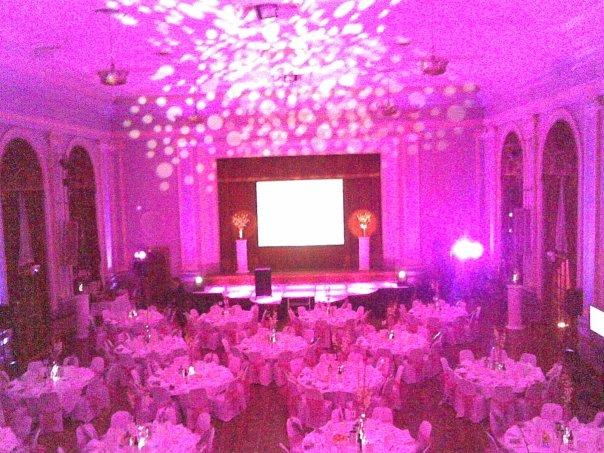 Albert Hall gala dinner