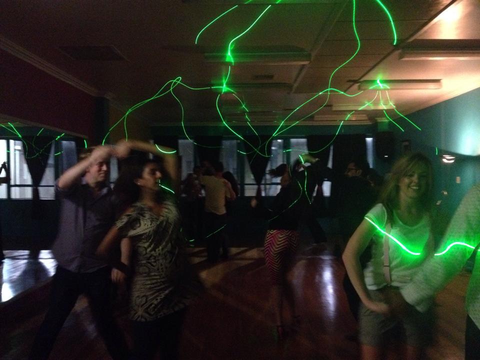 Salsabor Dance Studio's dance party