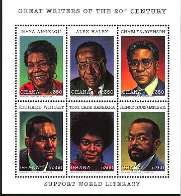 black authors world literacy stamp