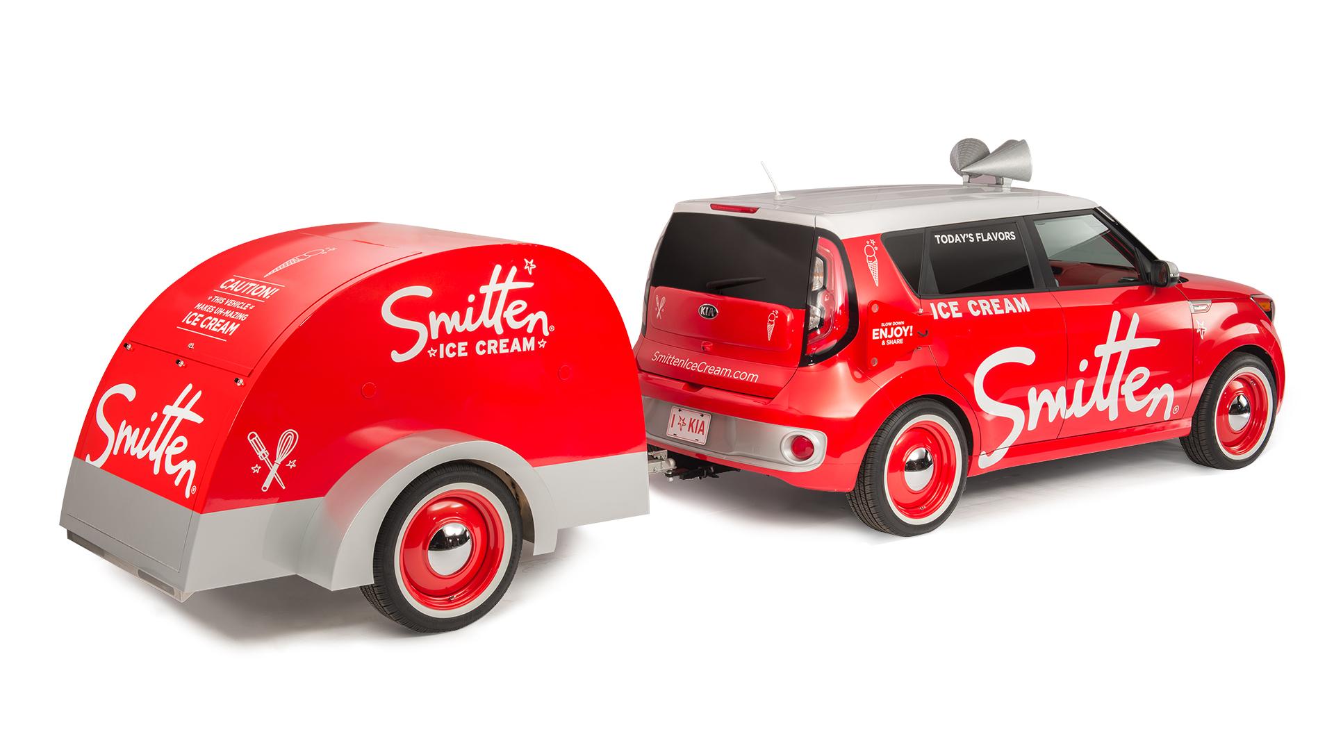 Smitten Ice Cream Smitten Concept Car  Gallagher