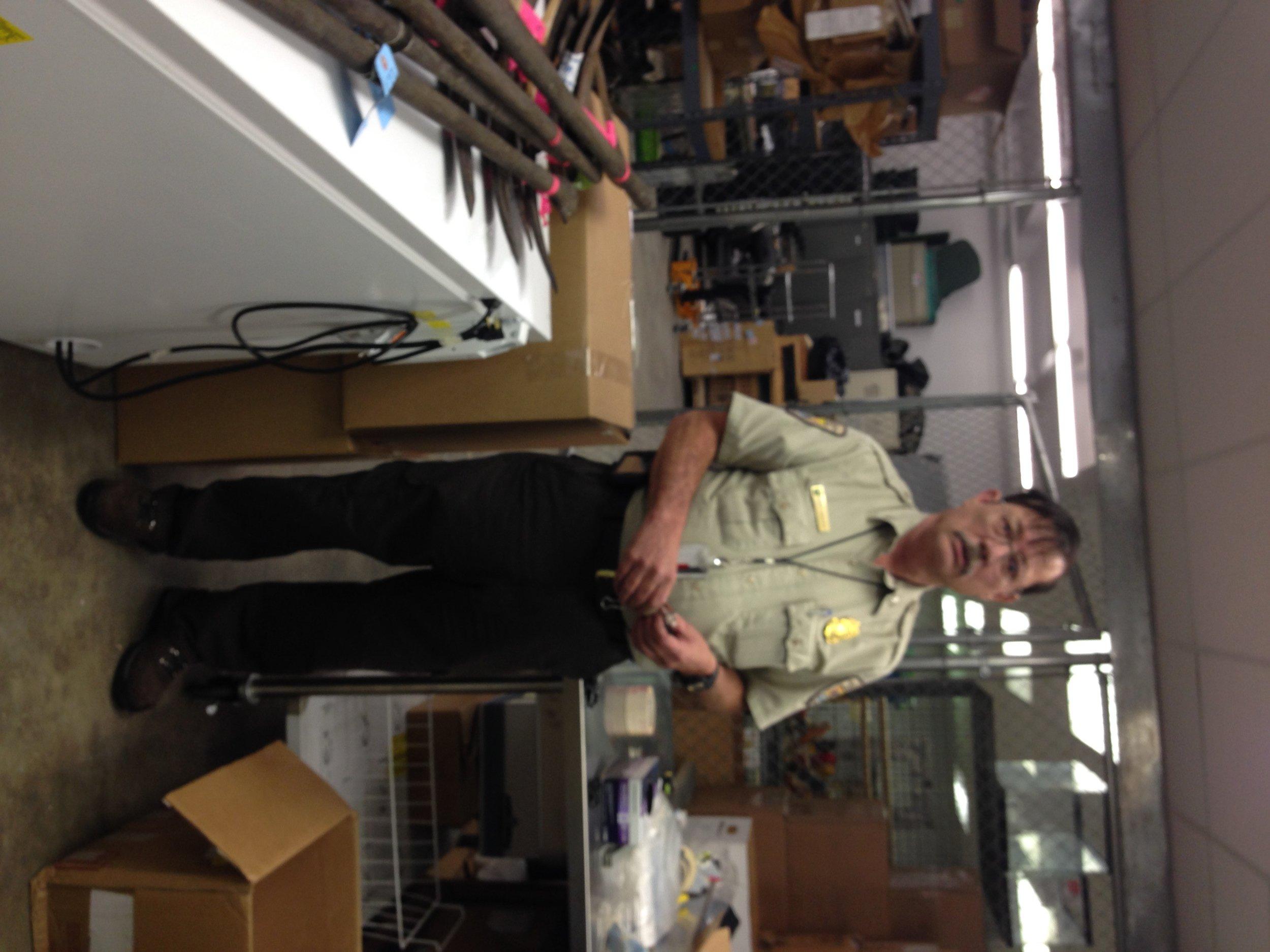 Walter Mike Osborn, Supervisory Inspector, U.S. Fish and Wildlife Service